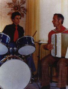 Jean-Pierre Verdolini et son père