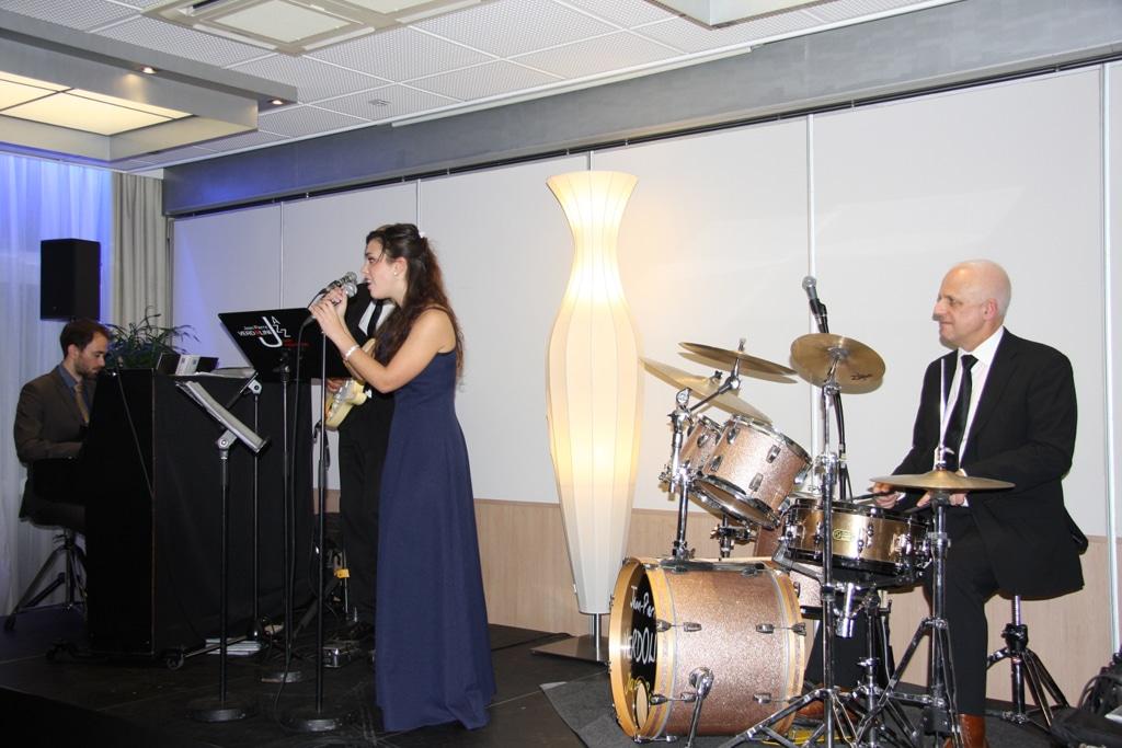 Accompagnement musical d'un concert privé