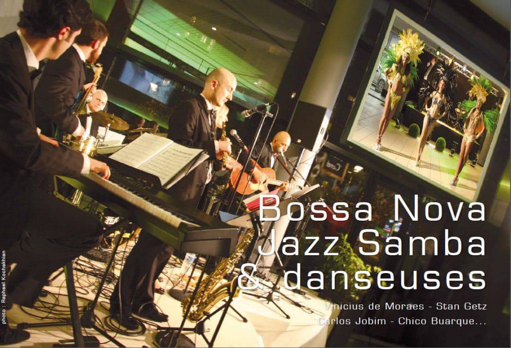 Répertoire Bossa Nova Jazz Samba